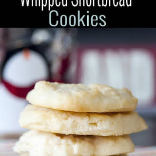 Whipped Shortbread Cookies.