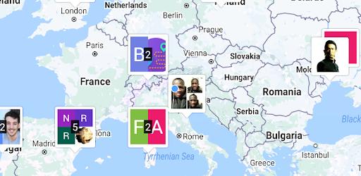 Freelapp - Emplois sur des cartes en temps réel
