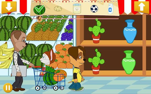 Puppies family shopping- screenshot thumbnail