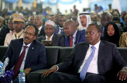 Image result for somali/kenyan presidents/images