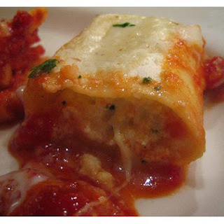 Stuffed Giant Sea Shells Or Manicotti