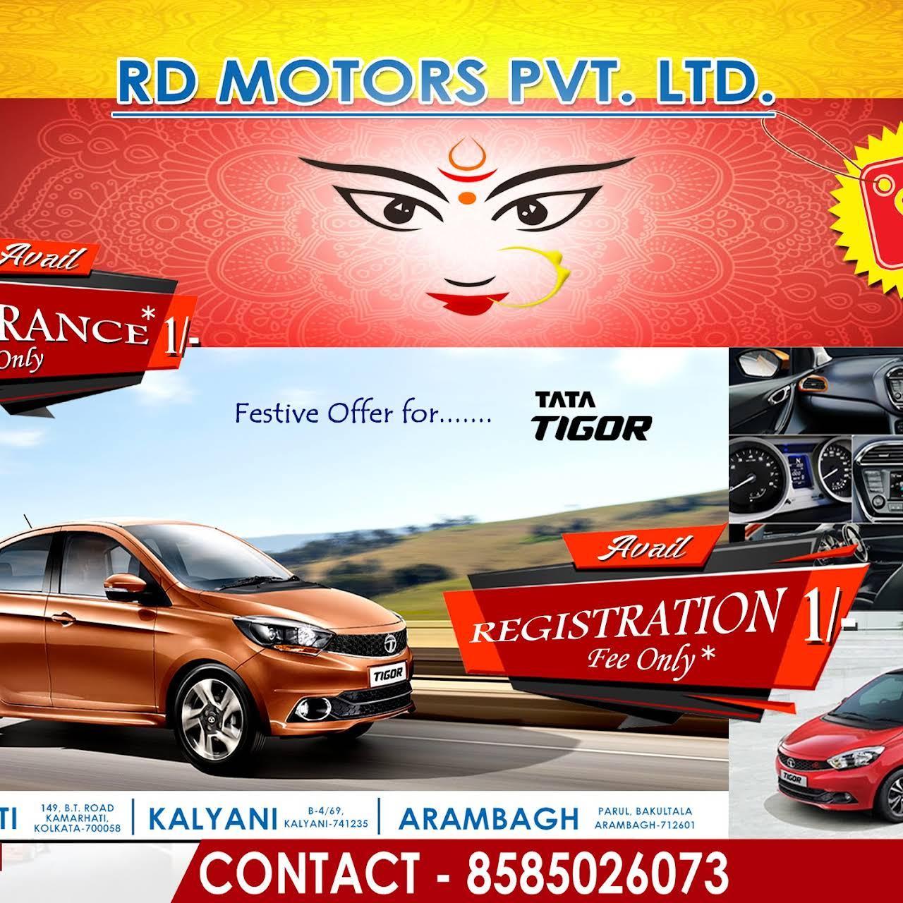 Rd motors tata motors dealer kolkata tata motors for H and r auto motors