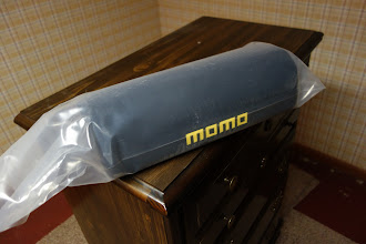 Photo: lumbar support pads for momo start racing seats.