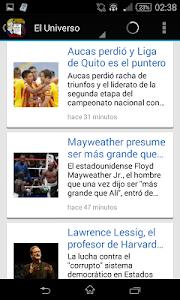Noticias de Ecuador screenshot 3