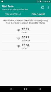 Next Train - náhled