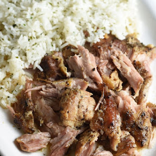 Slow Cooker Cuban Pork.
