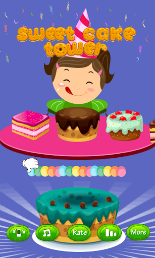 Sweet Cake Tower