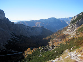 Photo: Blick zurück ins Trawiestal.