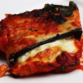 1. Cheesy Eggplant Roll-Ups