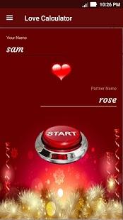 Love Calculator - crush meter, love meter & share - náhled