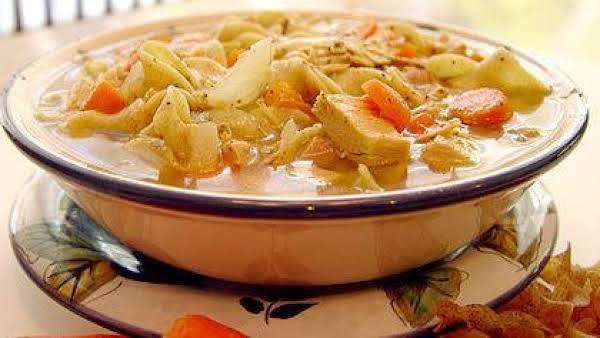 Turkey Noodle Soup Express Recipe