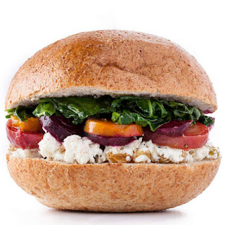 Beets, Spinach, and Goat Cheese Sandwich Recipe