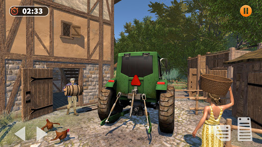 Tractor Farming Simulator - Big Farm Tractor Games apkmr screenshots 5