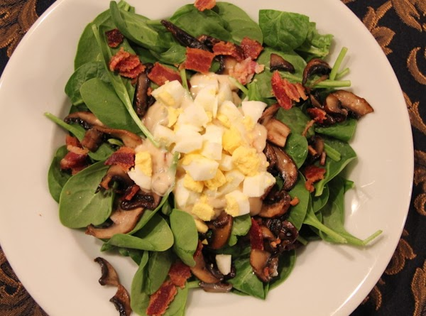 Pam's Spinach Salad Recipe