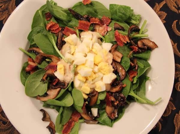 Pam's Spinach Salad Recipe