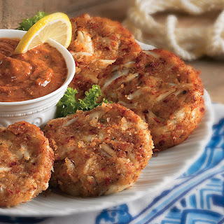 New Orleans Crab Cakes.