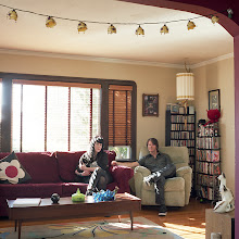 Photo: title: Mandolyn + Serge Vladimiroff, San Leandro, California date: 2012 relationship: friends, art, met at Hampshire College years known: Serge 20-25, Mandolyn 0-5