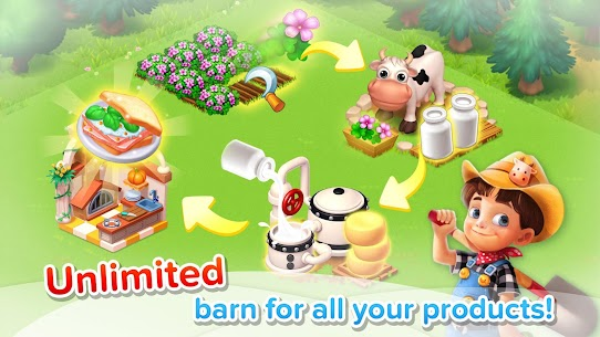 Family Farm Seaside MOD APK (Unlimited Money) 5