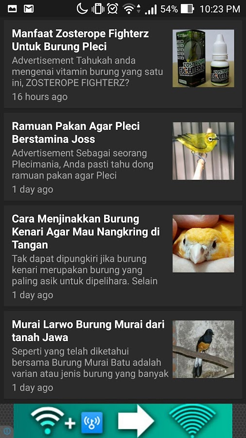 Tips Burung Kicauan- screenshot