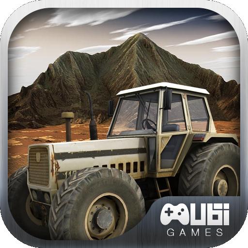 拖拉機爬坡賽車3D 賽車遊戲 LOGO-玩APPs