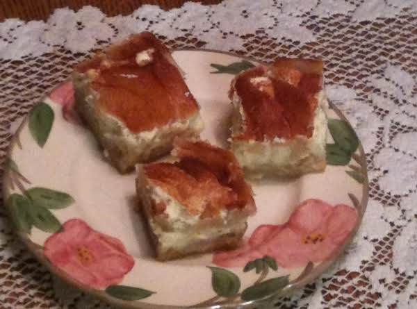 Pear Custard Bars Recipe