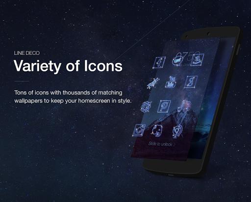 Wallpapers, Icons - LINE DECO screenshot 6