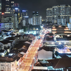 by Koh Chip Whye - City,  Street & Park  Night (  )