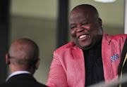 Chippa United Chairman Siviwe Mpengesi during the 2018 Nedbank Cup Final between Maritzburg United and Free State Stars at Cape Town Stadium on 19 May 2018.