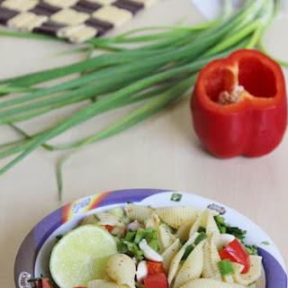 pasta chaat recipe – Indian kids pasta