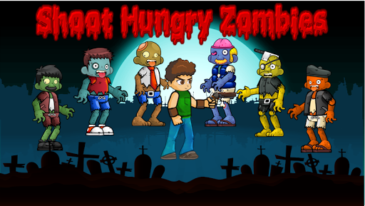 Shoot hungry zombies  screenshots 9