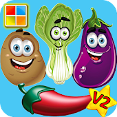 Vegetables Flashcards V2