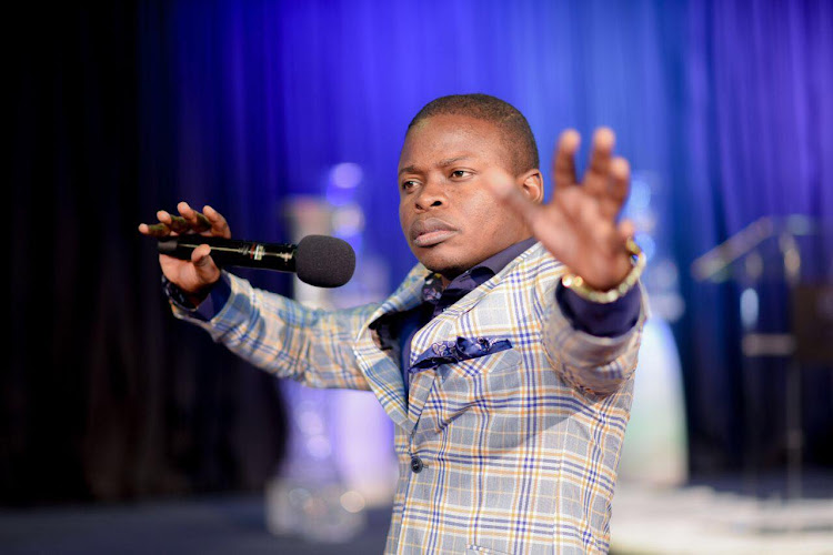 Prophet Shepherd Bushiri founder of Enlightened Christian Gathering Church (ECG) and Shepherd Bushiri Ministries International.