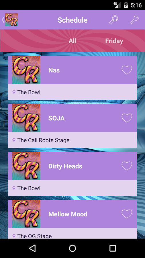 California Roots Festival- screenshot