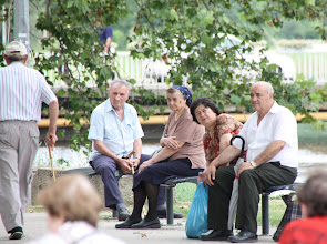 Photo: Day 77 - Residents in Vukovar Watching the World Go By