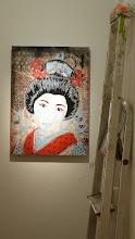 Photo: Galerie 30Works; Sushi Connection; Solo Show MITTENIMWALD; Geisha Airi IV