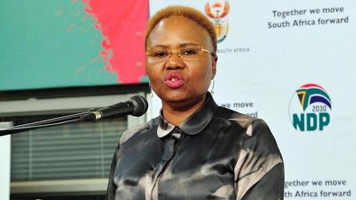 Small business development minister Lindiwe Zulu [Photo source: DOC Twitter page]