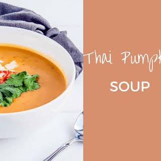 Thai Pumpkin Soup with Coconut Milk {vegan}.