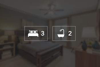 Go to Three Bedroom Ranch Floorplan page.
