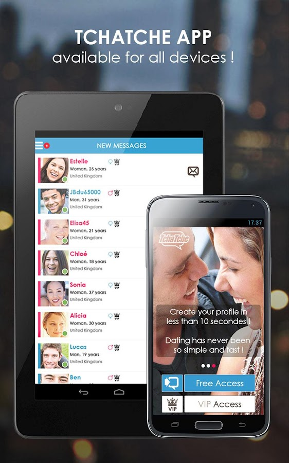 Tchatche : Chat & Dating - screenshot