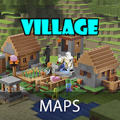 Village maps for Minecraft pe
