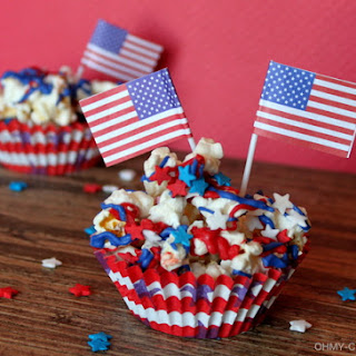 Stars and Stripes Patriotic Popcorn Recipe