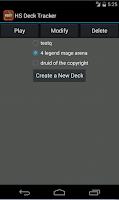 Screenshot of Deck Tracker for Hearthstone
