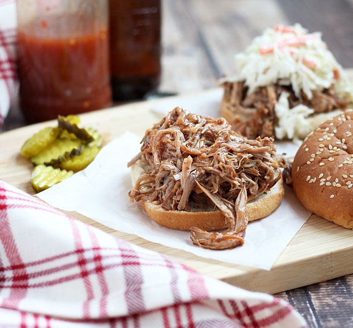 Ingredient Slow Cooker Pulled Pork Recipe | Yummly