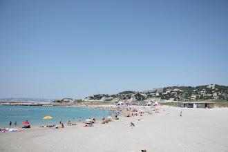 Photo: Ездили в Марсель купаться. Вода была просто прекрасная, только спрятаться от солнца негде.