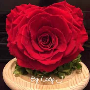 ❤️[現貨]日本頂級紅色心型玫瑰❤️
