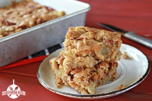 """Brown Sugar Apple Blondies""""Fall is, without a doubt, my favorite season. The..."""