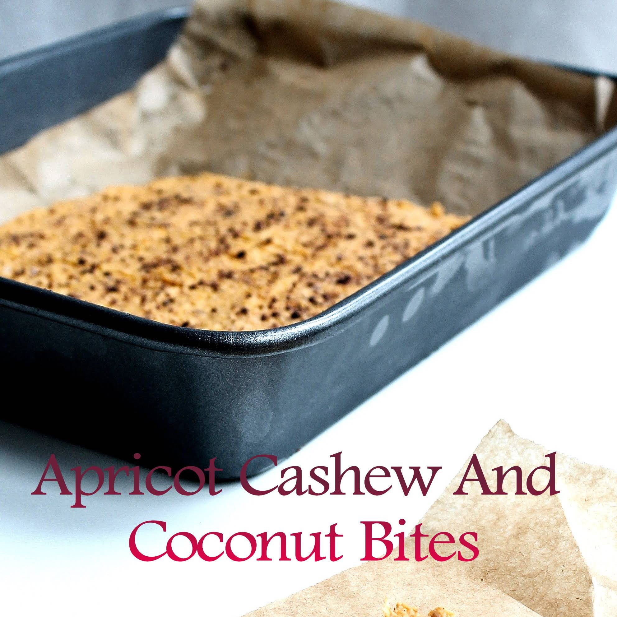 Apricot Cashew And Coconut Bites Diabetes Friendly