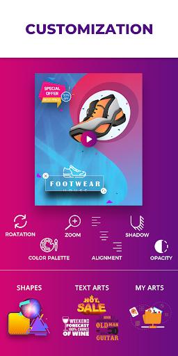 Flyer Maker, Poster Maker With Video 19.0 screenshots 4