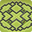 Maps of Clash of Clans 2018 icon