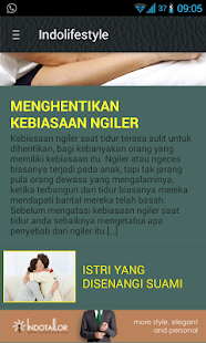 IndolifeStyle- screenshot thumbnail
